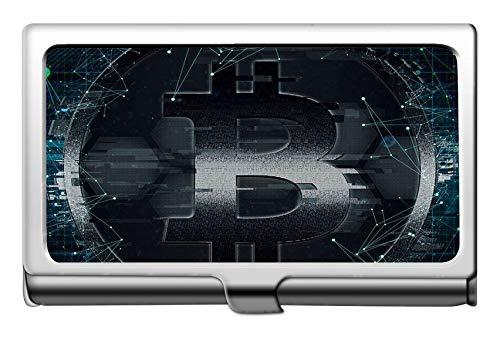 Business Name Card Holder 304 Edelstahl, Dollar Bitcoin Wealth Business Kreditkarteninhaber