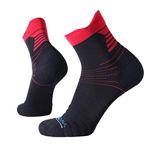 2 Paar Sportsocken für Männer Coolmax Premium Serie, Allrounder Sport Socken für Fitness, Laufen, Joggen, Wandern und Triathlon, Knöchelhoch, Coolmax Elite, 42-47