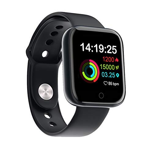 KT World D20 ID116 Plus Bluetooth Smart Fitness Band Watch with Heart Rate Activity Tracker Waterproof Body, Step and Calorie Counter, Blood Pressure [20] OLED Touchscreen for Men & Women