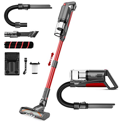 Cordless Vacuum Cleaner, Aucma by whall 5 in 1 Brushless Motor