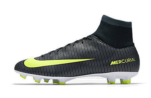 Nike Mercurial Victory VI Cr7 DF Fg, Scarpe da Calcio Uomo, Verde (Algen/Hasta/Weiß/Volt), 45 EU