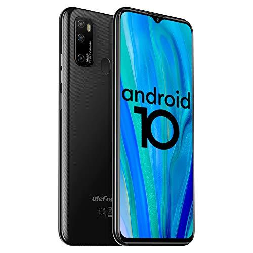 Smarthphone Offerta Ulefone Note 9P Cellulari Offerte Android 10 Octa-core 16MP Triple Rear Camera Telefoni Cellulari 4GB+64GB 6.52 Pollici 4500mAh Battery Nero
