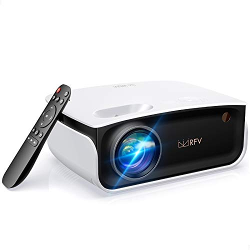 Mini Projector-2020 Latest Portable Video Projector for Home Theater/Outdoor Movie/Video Game, Support 1080P/236 Projector Screen, Compatible with Netflix/TV Stick/Phone/Laptop/PC/HDMI/USB
