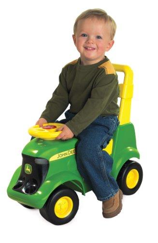 TOMY John Deere Sit N Scoot Activity Tractor