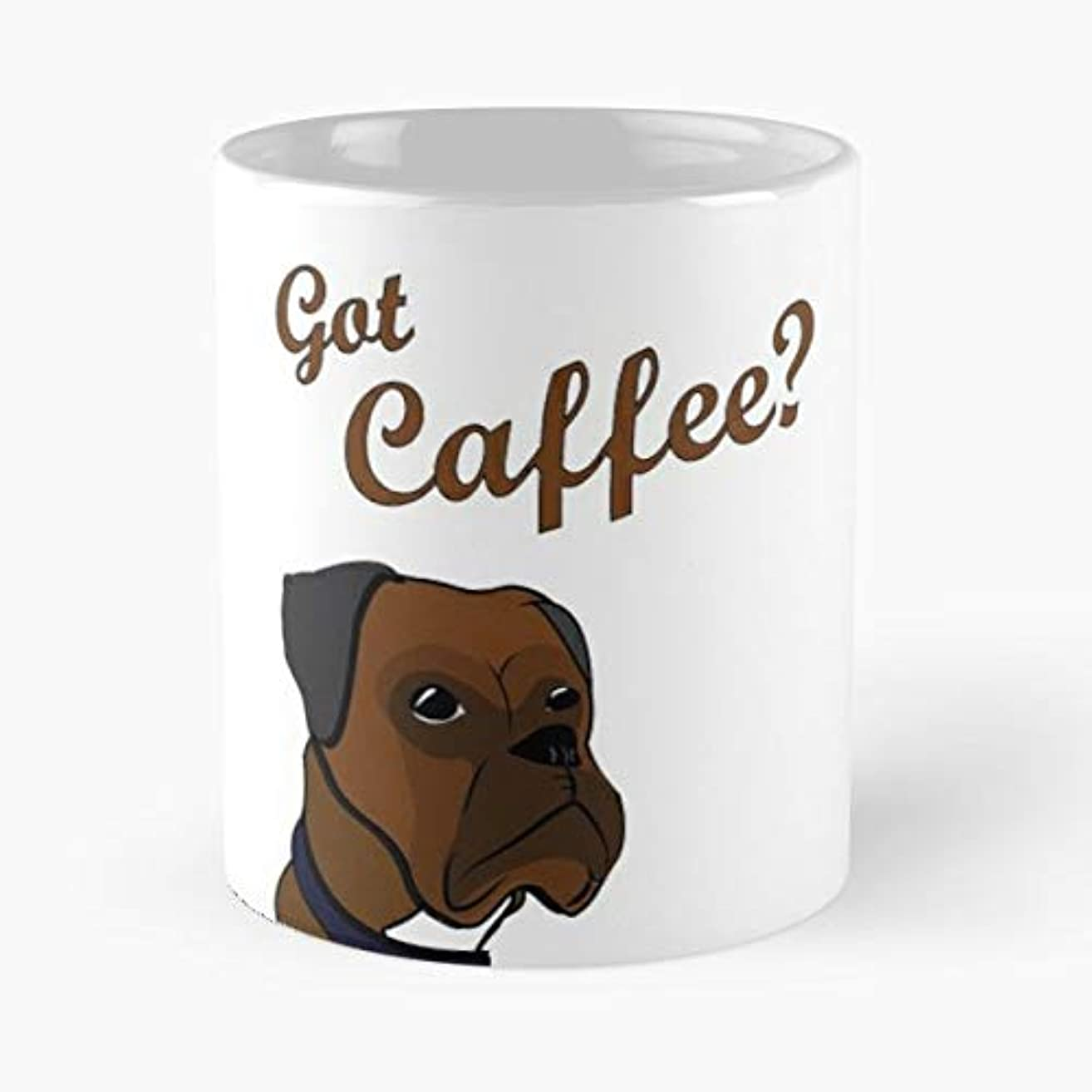 Coffee Morning Boxer -funny Gifts For Men And Women Gift Coffee Mug Tea Cup White - 11 Oz.