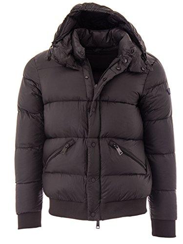 Armani Jeans Herren Jacket Jacke, Schwarz (Nero 1200), Medium (Herstellergröße: 50)