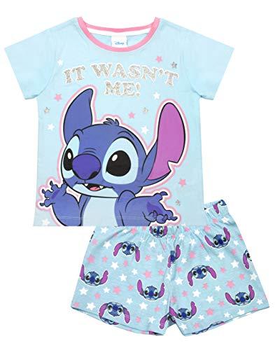 Disney Lilo y Corta Azul Conjunto de Pijama de la Puntada de la Muchacha