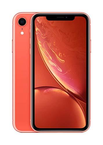Apple iPhone XR (256GB, Coral) [Locked] + Cricket Wireless Plan