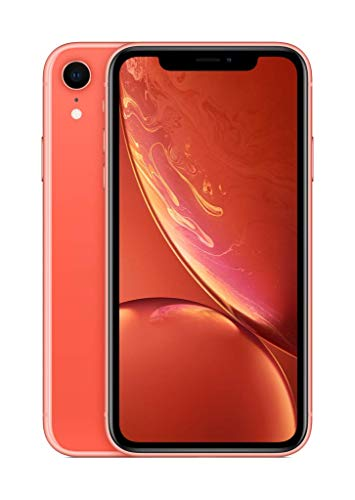 Apple iPhone XR (64GB, Coral) [C...