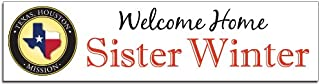 lds missionary welcome home banner