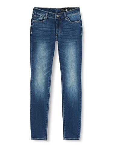 ARMANI EXCHANGE 9,5 Ounces Stretch Mid Wash Jeans Skinny, Blu (Indigo Denim 1500), 46/L28 (Taglia Unica: 33) Donna