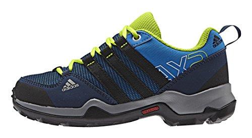 adidas AX2 CP K, Zapatillas de Deporte Unisex niños, Azul/Negro/Verde (Azuimp/Negbas/Seliso), 30