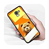 Ours mignon animal pour Samsung Galaxy J2 J3 J4 Core J5 J6 J7 J8 Prime duo Plus 2018 2017 2016 Coque...