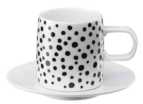 ASA 29180690 MUGA Coffee Espresso Tasse mit Untere 0,08 l (1 Stück)