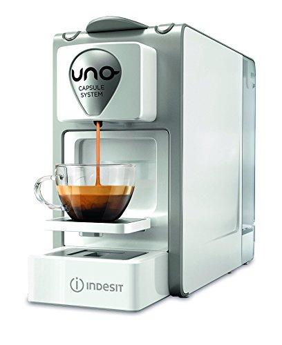 Indesit CM HPS LW1 I Macchina per Caffe, 1 Litro, 1300 Watt, Bianco