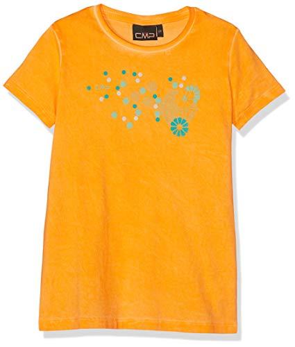 CMP T-Shirt 39T7555 Camiseta, Niñas, Fanta, 116