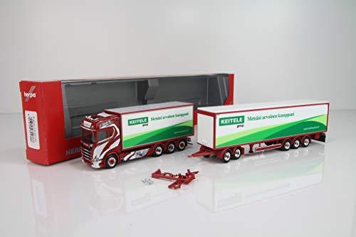 Scania CS 20 HD Eurocombi Tynjälä Oy in Miniatur zum Basteln Sammeln und als Geschenk