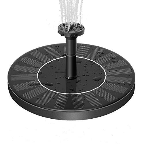 RainSund - Bomba de agua solar con fuente de agua, diseño de pájaros flotantes, para jardín, piscina, estanque, fuente de rociador solar