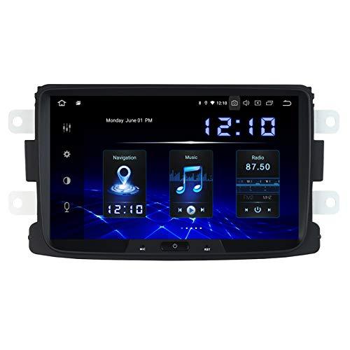 Dasaita 8  Android 10.0 Autoradio con Schermo per Renault Duster Dacia Sandero Duster Captur Lada Xray 2 Logan 2 Stereo Auto Bluetooth Compatibile con AndroidAuto Apple CarPlay