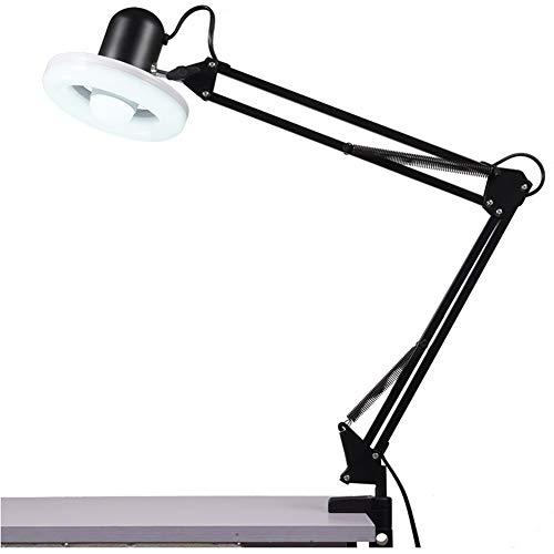 LED Beauty Lamp, Ring Licht voor Make-up Fotografie Live Uitzending Video Schieten Tattoo Nagels Lamp Zwart