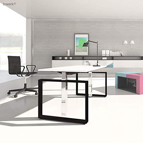 Preisvergleich Produktbild Inwerk Steh-Sitz Schreibtisch Masterlift 4,  Chrom / s