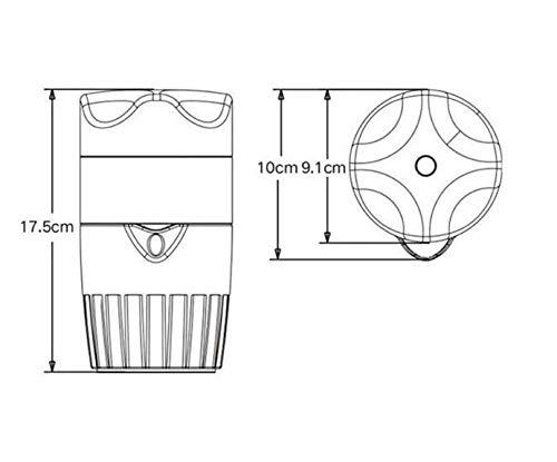 Licuadora Portátil Extractor exprimidor de cítricos de Naranja limón Fruta exprimidor de Jugo Original niño Sano Vida Potable Exprimidor Máquina: Amazon.es: Electrónica