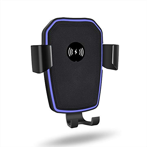 Snelladen 10W Qi Wireless Car Charger Air Vent Mount Phone Holder voor Iphone XS XR X 8 11 Pro Samsung S10 S9 Nota 10 9