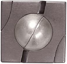 BePuzzled Marble Hanayama Cast Metal Brain Teaser Puzzle (Level 4) Puzzles For Kids & Adults Ages 12 & Up