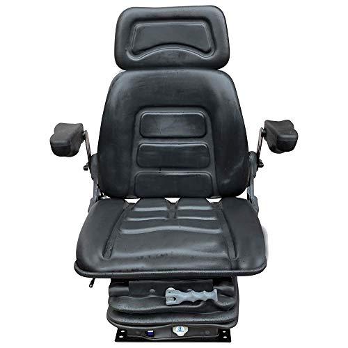 Schleppersitz Traktorsitz Staplersitz Baggersitz CS 85H/90AR Fahrersitz passend Linde Clark Deutz PVC