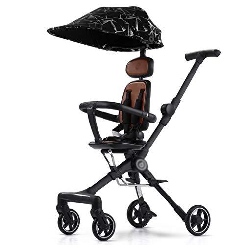 LMJ Kinderwagen buggys Puppe Spaziergänger Pram Kinderwagen, Kinderwagen Travel ist Ultra-leichte, Faltbare und...