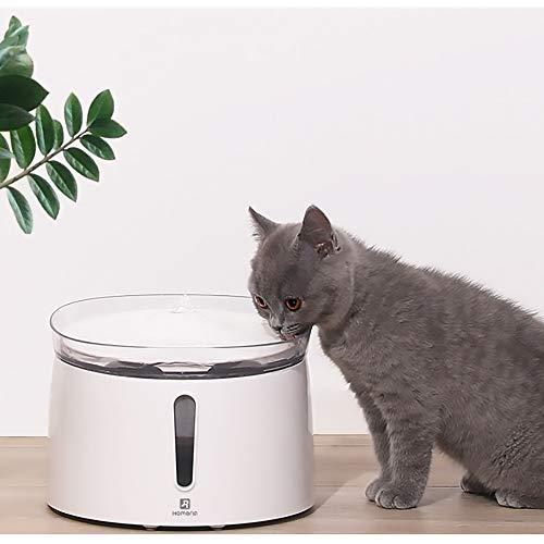Bxiaoyan Silent Smart Pet Wasserspender Smart Cat Wasserspender Automatischer Hundewasserspender