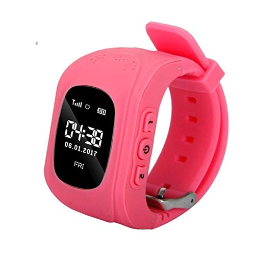 VINTIL VT Q50 Smart Watch for Kids Children Wrist Watch with Anti-Lost, GPS Tracker, SOS Call, Location Finder, Compatible with iPhone and Android Smartphones