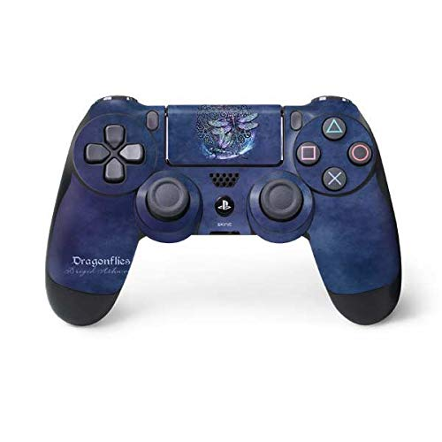 Skinit Decal Gaming Skin for PS4 Controller - Officially Licensed Tate and Co. Dragonfly Celtic Knot Design