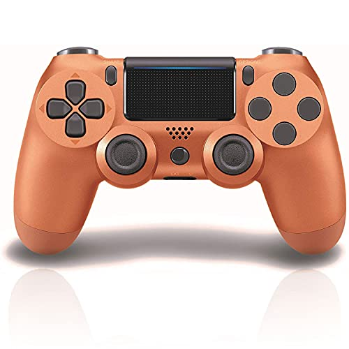 PS4 Controller Wireless Bluetooth Gamepad with Led Touch Pad/Speaker/Gyro/Share Button/Ergonomic Design/Audio Jack, Remote Controller Gamepad for PS4/ PS4 Slim/PS4 Pro/PC Suitable as Gift