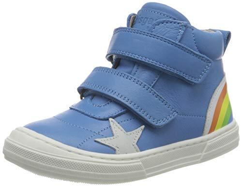 Bisgaard Unisex-Baby Rainbow Sneaker, Sky Blue,28 EU