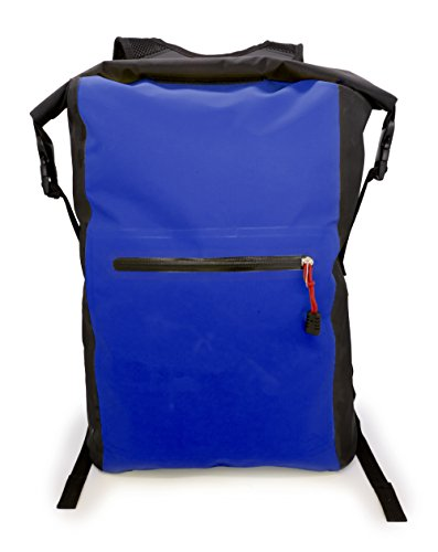 MyGadget Bolsa Estanca 25L - Bolsa Impermeable - Dry Bag Protección Waterproof Mochila para Viajes y Deportes cómoKayak,Surf - Azul