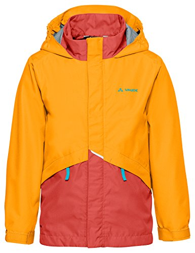 VAUDE Kinder Kids Escape Light Jacket III Jacke, Rock Melone, 122