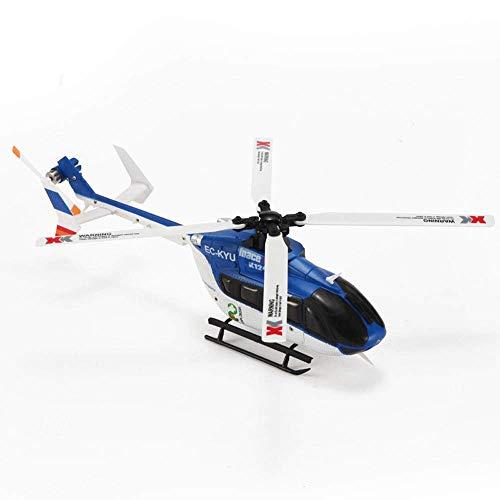 ZCZZ EC-145 Giocattoli Mini Big Drone, RC Quadcopter Giocattoli Volanti 2.4GHZ 4CH 6Axis Altitude Hold Luci LED Gadgets per Ragazzi Ragazze Adolescenti Adulti (Blu)