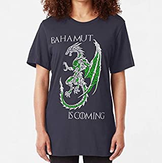 Keokeotee Bahamut Is Coming V2 Slim Fit TShirt Unisex T-Shirt, Hoodie, Sweatshirt For Men Women