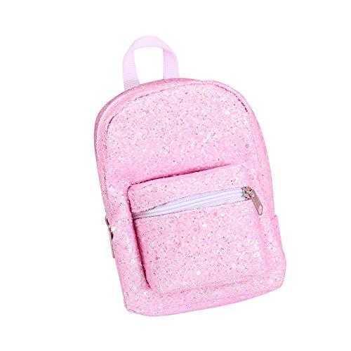 P12cheng Monedero con cremallera – Pulsera de lentejuelas bolsa de almacenamiento mini monedero bolsa monedero monedero titular para fitness running deporte al aire libre rosa púrpura