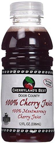 Cherryland's Best Tart Cherry Juice, 12 Ounce (Pack of 12)