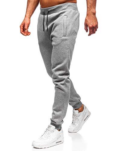 Pantalon Chandal Gris Hombre 56 Descuento Gigarobot Net