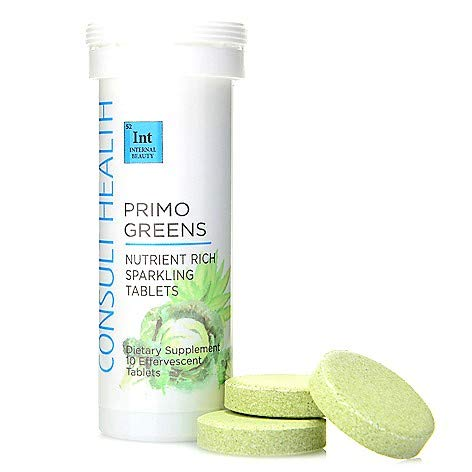 Consult Health Choice of Supply Primo Greens Nutrient-Rich Sparkling Tablets (10)