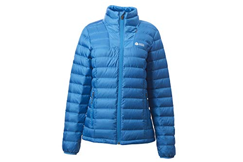 Sierra Designs Women's Sierra DriDown Jacket, 800 Fill Winter Down Jacket, X-Small, Majorca Blue
