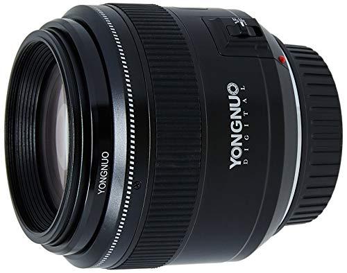 Objetivo Yongnuo YN-85mm F/1.8 para cámaras DSLR Canon - Auto Enfoque AF/MF