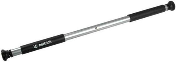 Hattrick - Barra de dominadas con acolchado para las manos, goma lateral transparente, para el marco de la puerta