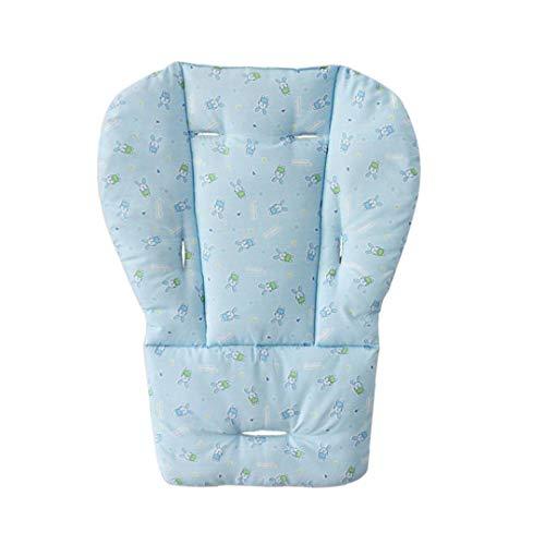 Cochecito de bebé del amortiguador de asiento portable del bebé caliente del cojín de dibujos animados patrón de conejo cochecito silla alta del amortiguador de asiento Liner Mat protector a