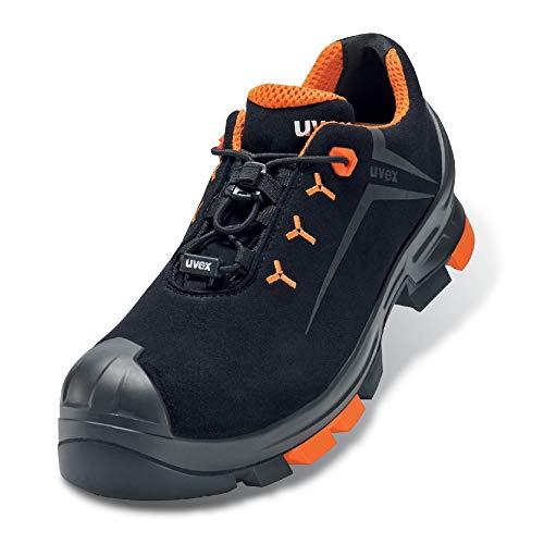 Uvex Uvex 2 Arbeitsschuhe - Sicherheitshalbschuhe S3 SRC ESD - Orange-Schwarz, Größe:45