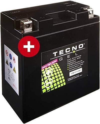 YB9-B Tecno Gel-bateria para C9 125 Freccia Año 1987-1988