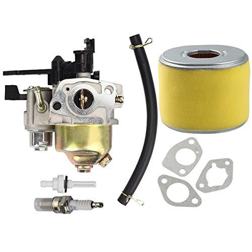 Hippotech Carburatore con Filtro dellAria per Tosaerba Honda GXV120 GXV140 GXV160 Motore HR194 HR195 HR214 HRA214 HR215 HR216 HRA216 HRC216